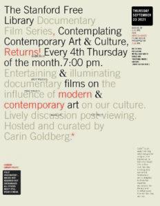 Documentary Film Series:  Contemplating Contemporary Art & Culture