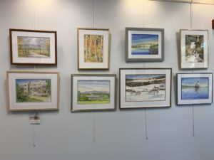 Our Lobby Art Exhibit